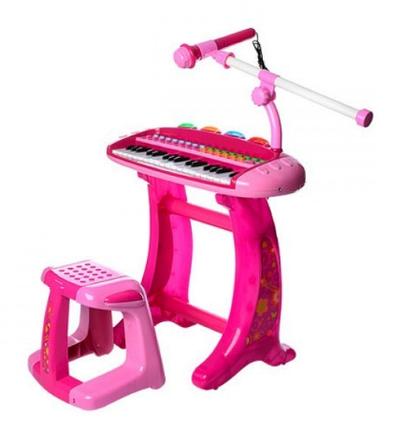 Синтезатор з мікрофоном арт. ПК-8020С-2, 36 клавіш, фото 2