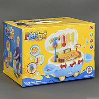 """Рыбалка 668-47 """"Катер"""" (12) 25 предметов, свет, музыкальная, на батарейке, в коробке"""