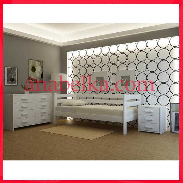 Кровать деревянная  Женева  (Анабель)