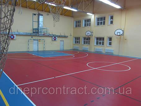 Спортивный линолеум  Omnisports V65 для игровых залов, фото 2