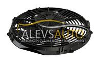 Вентилятор осевой дующий S-тип 12 вольт 10 дюймов