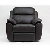 Кресло Реклайнер Алабама (натуральная кожа) МК Вега