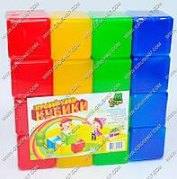 "Гр Кубики цветные 16 шт. (20) ""M-TOYS"""