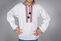 Детская рубашка вышиванка украинская для мальчика, фото 1