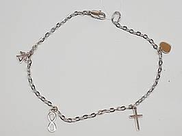 Срібний браслет. Артикул 905-01089 17