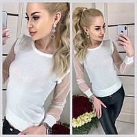 Женский джемпер KSENIYA  цвет Белый