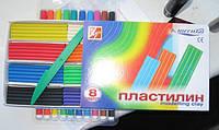 Пластилін Промінь Класика 8 кольорів