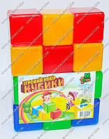 "Гр Кубики цветные 12 шт. (24) ""M-TOYS"""