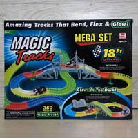 Светящийся трек Magic Tracks + 2 машины 360 дет.