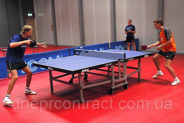 Спортивный линолеум  настольного тенниса Tarkett Omnisport V35