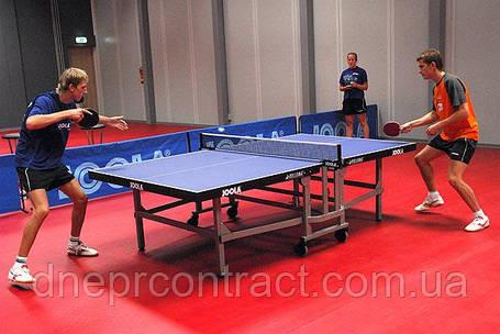 Спортивный линолеум  настольного тенниса Tarkett Omnisport V35, фото 2