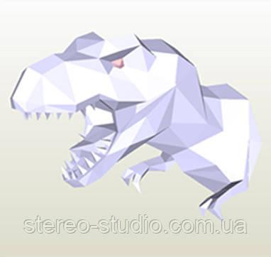 Полигональная модель Динозавр в подарочной упаковке