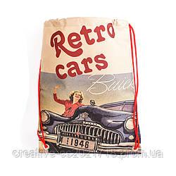 Рюкзак для сменки Retro cars