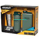Подарочный набор Stanley Adventure (4 рюмки х 0,059л + футляр + фляга 0,236л), зеленый, фото 7