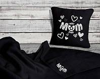 Комплект подарочный - плед и подушка