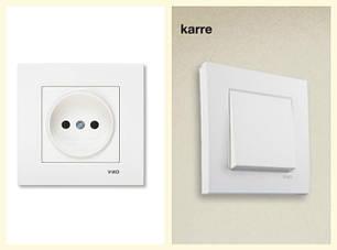 Viko Karre: розетки, выключатели, рамки