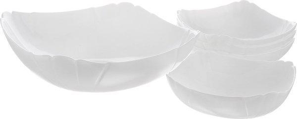 Lotusia Набор салатников 24 см-1 шт, 15 см- 4 шт Luminarc J3189