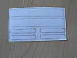Наклейка s маленькая Nissan набор 6шт силиконовая надпись на авто эмблема Ниссан Уценка, фото 2