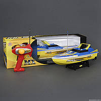 Катер 918 (12) р/у, на батарейках, в коробке
