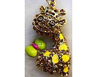 """Брелок в подарочной коробке """"Жираф"""" №6960-782-3"""