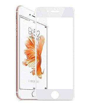 Защитное стекло 6D для телефона iPhone 7 / 7s - белый