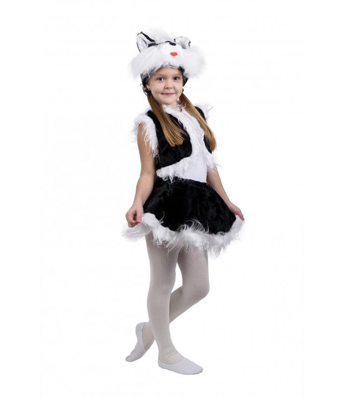 Карнавальный костюм КОШКА, КОШЕЧКА черная на девочку 3-7 ... - photo#5