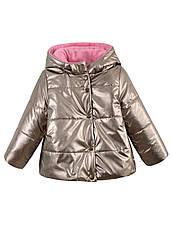 Детская демисезонная куртка на девочку, флис,в расцветках, р.92-116, фото 3