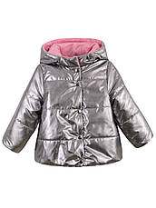 Детская демисезонная куртка на девочку, флис,в расцветках, р.92-116, фото 2