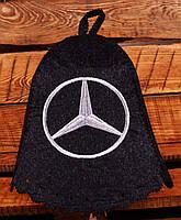 Шапка для бани и сауны  «Mercedes»