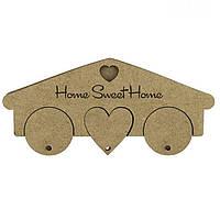 Ключница МДФ Home Sweet Home 19,5*1,2*8,7см Rosa Talent 2862405