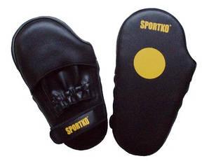 Лапы боксерские Sportko кожаные малые арт.ПК-4