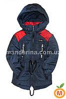 Демисезонная куртка парка для мальчика (2-6 лет)