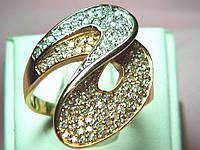 Кольцо золотое 585 пробы , фото 1