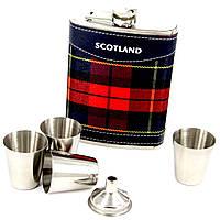Набор с флягой для виски Scotland T013-3