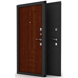 """Входные двери ( сталь 3 мм.) с порошковой покраской """"АНТИК"""" + МДФ 8 мм. Замок Fuaro 4252"""