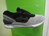 Женские кроссовки Asics Gel серые с черным, фото 1