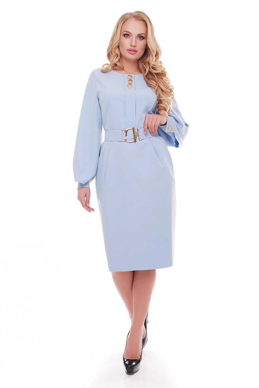 Платье  Екатерина 1169 голубой