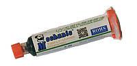 Лак изоляционный MECHANIC LY-UVH900, зелёный, в шприце, 10 ml