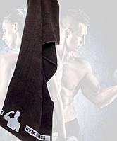 Махровые полотенца лицевые эксклюзивные фитнес для настоящих мужчин! 50х90 см.,ц. Бежевый