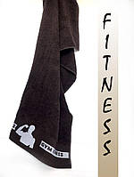 Махровые полотенца лицевые эксклюзивные фитнес для настоящих мужчин! 50х90 см.,ц. Белый