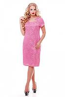 Платье Катрин 1064 к/р фламинго