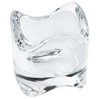 ВЭСНАС Подсвечник для греющей свечи, прозрачное стекло, 6 см, 60259096, IKEA, ИКЕА, VASNAS