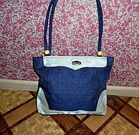 Женская сумка джинсовая