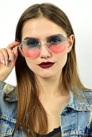 Солнцезащитные очки с голубо-розовыми линзами
