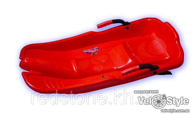 Санки PLAST KON Turbo Jet красные