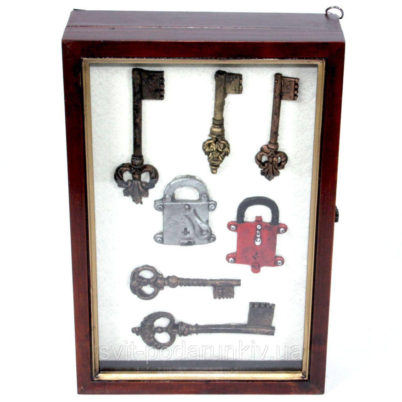 """Ключница для ключей настенная """"Ключи"""" АS186-30B"""