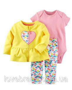 Набор 3-Piece Little Jacket Set Carter's для девочки