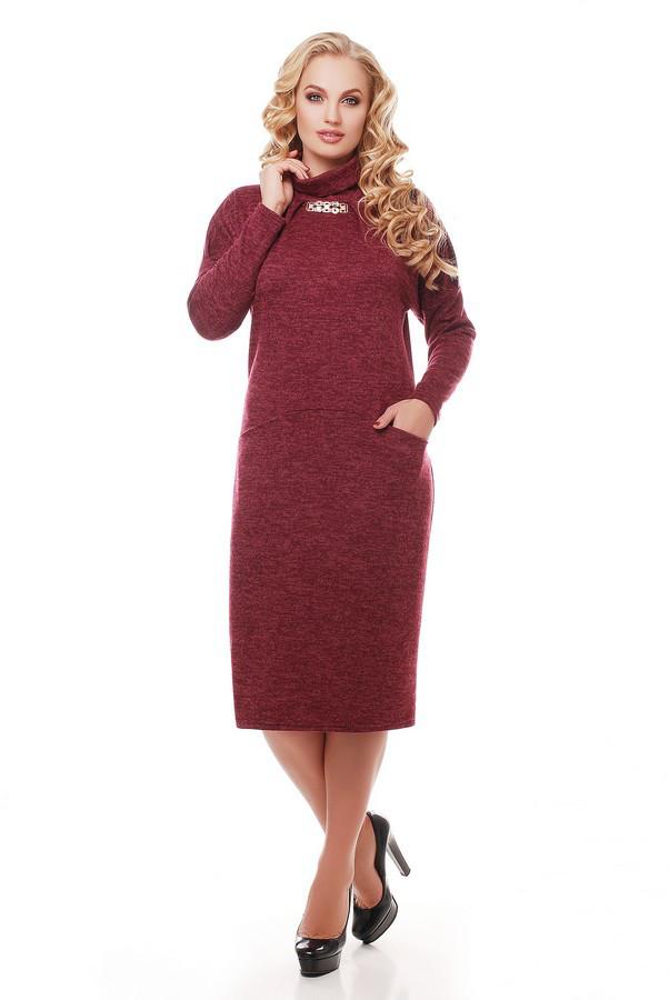 Платье Алиса 1166 марсала