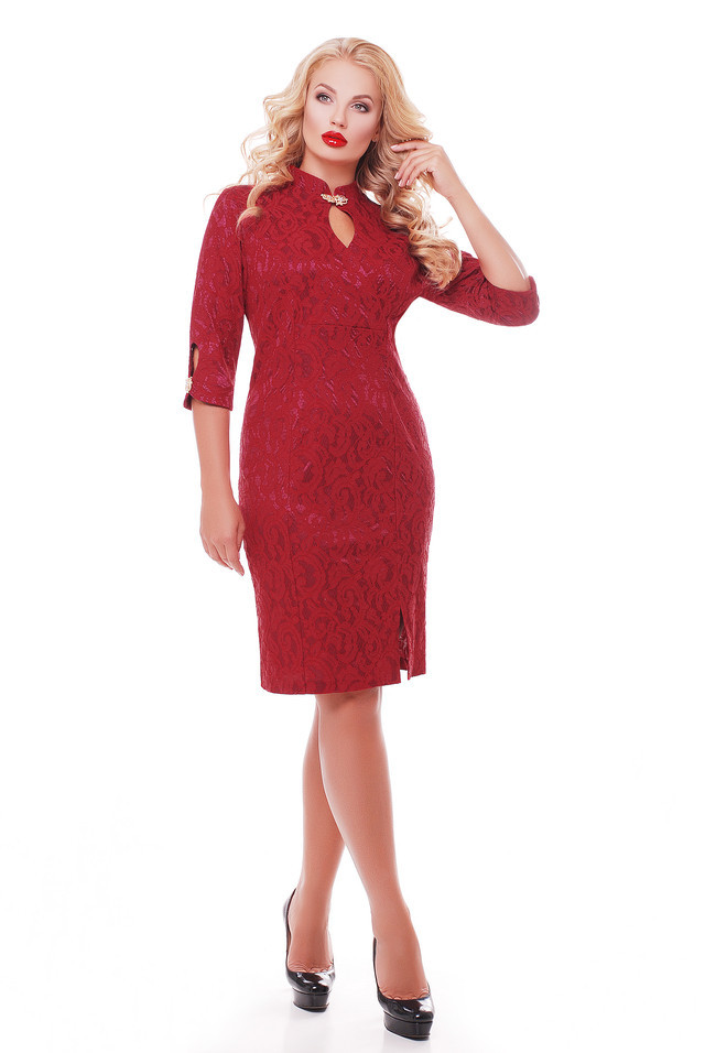 Платье Лира 1161 бордо