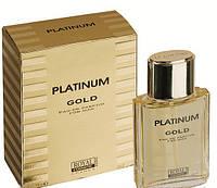 Чоловіча туалетна вода gold platinum 100 ml